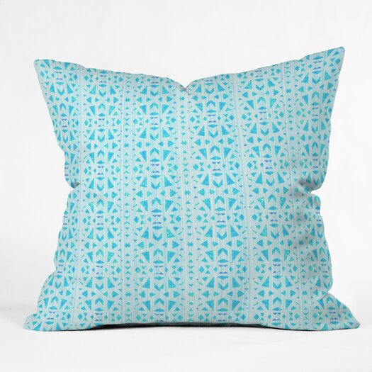 DENY Designs Hadley Hutton Floral Tribe Collection 4 Outdoor Throw Pillow