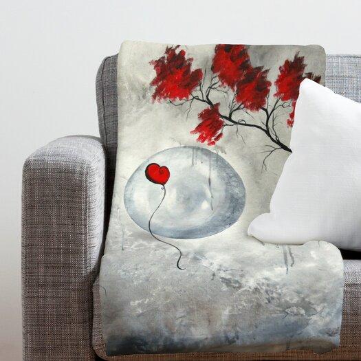 DENY Designs Madart Inc. Far Side Of The Moon Polyester Fleece Throw Blanket