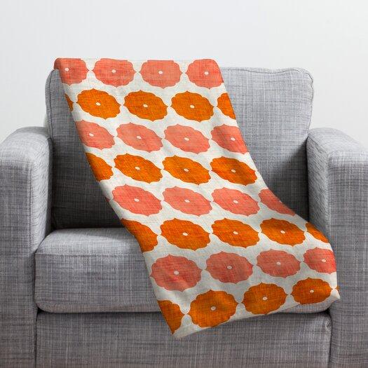 DENY Designs Holli Zollinger Annapurna Polyester Fleece Throw Blanket