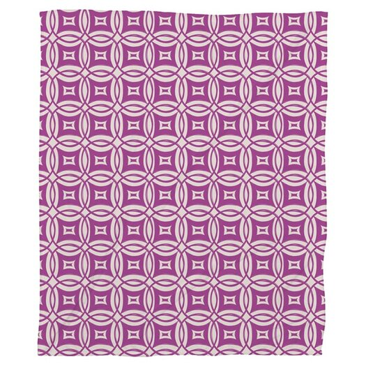 DENY Designs Khristian A Howell Desert Twilight 12 Polyester Fleece Throw Blanket