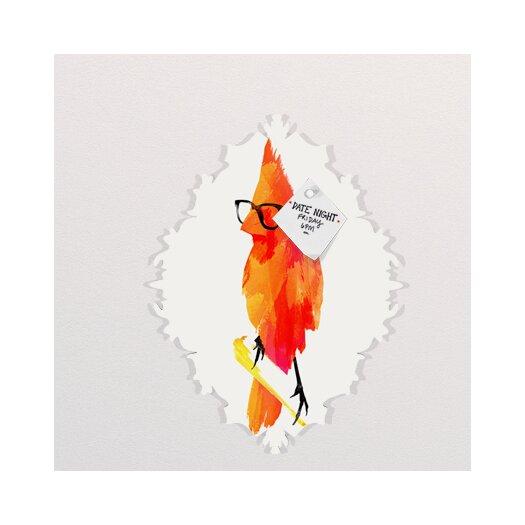 DENY Designs Robert Farkas Punk Bird Baroque Memo Board