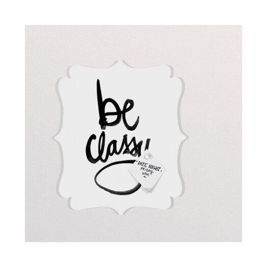 DENY Designs Kal Barteski Be Classy Quatrefoil Memo Board