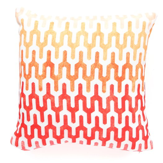 DENY Designs Arcturus Warm 1 Polyester Throw Pillow