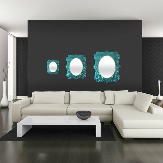 DENY Designs Lisa Argyropoulos Aquios Quatrefoil Wall Mirror