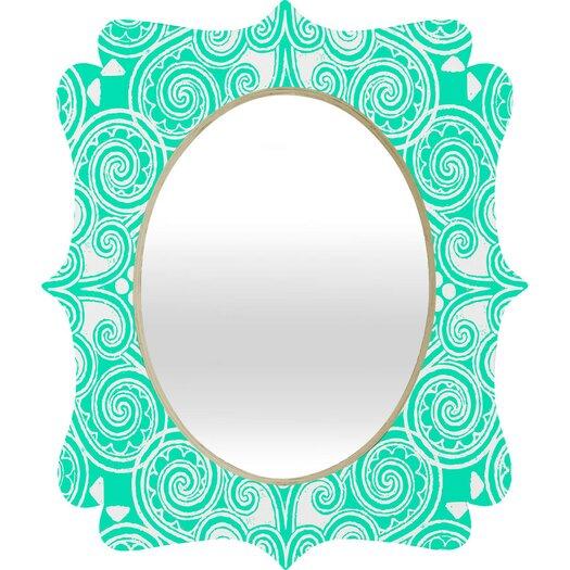 DENY Designs Budi Kwan Decographic Quatrefoil Mirror