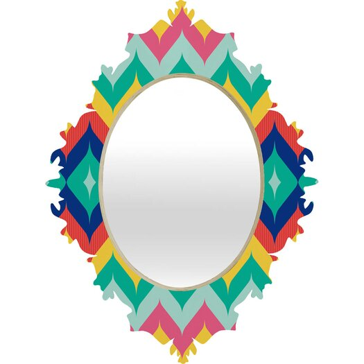 DENY Designs Juliana Curi Chevron 5 Wall Mirror