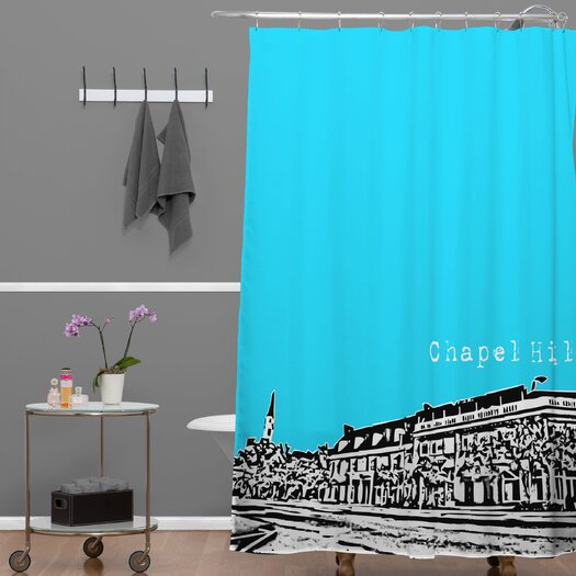 DENY Designs Bird Ave Woven Polyester Chapel Hill Shower Curtain