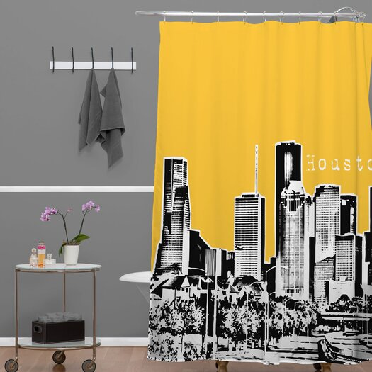 DENY Designs Bird Ave Woven Polyester Houston Shower Curtain