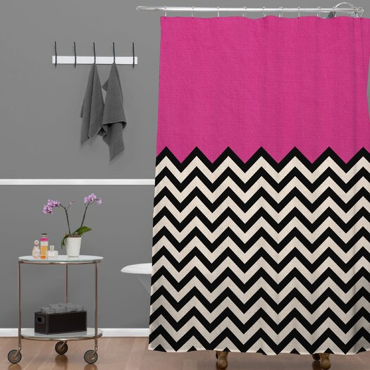 DENY Designs Bianca Woven Polyester Shower Curtain
