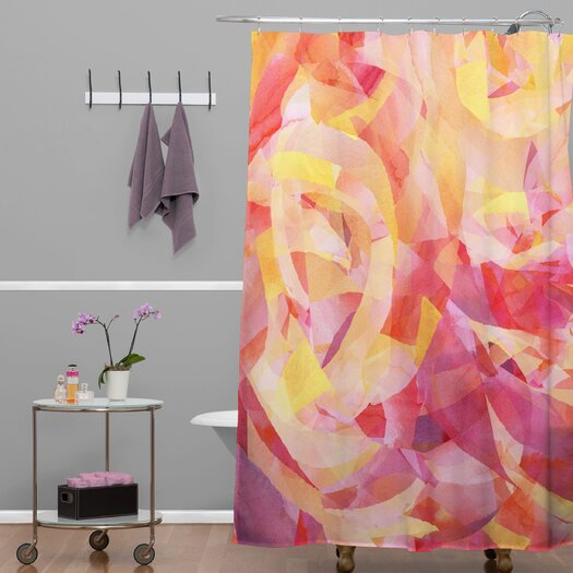 DENY Designs Jacqueline Maldonado Woven Polyester Concentric Shower Curtain