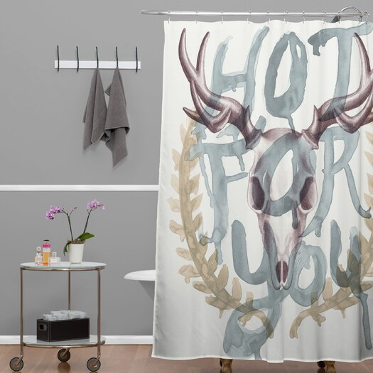 DENY Designs Wesley Bird Polyester Hot For You Shower Curtain