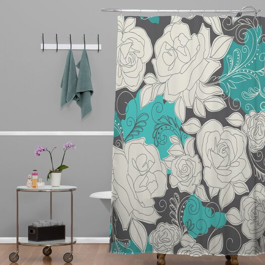 DENY Designs Khristian A Howell Woven Polyester Rendezvous 3 Shower Curtain