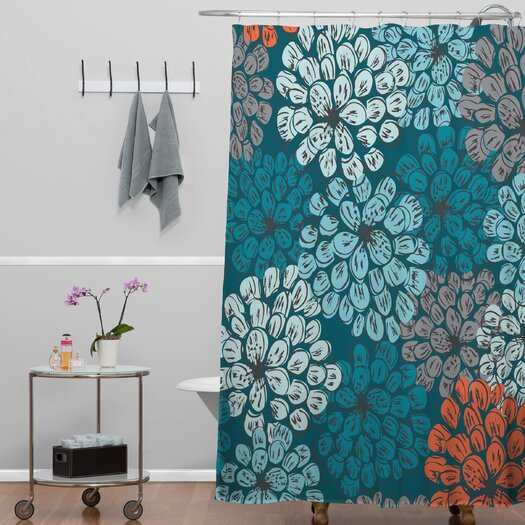 DENY Designs Khristian A Howell Woven Polyester Greenwich Gardens 3 Shower Curtain
