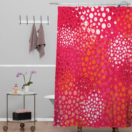 DENY Designs Khristian A Howell Polyester Brady Dots 2 Shower Curtain