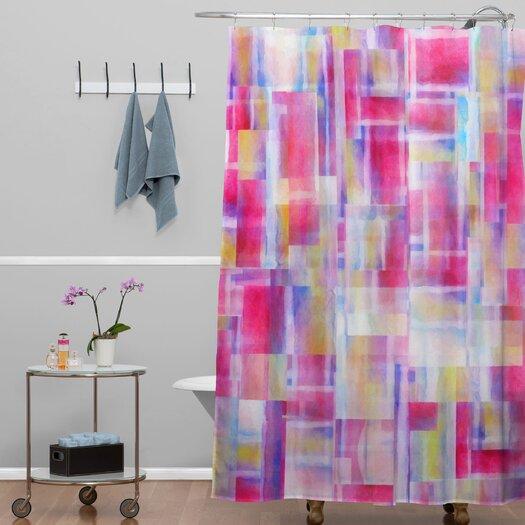 DENY Designs Jacqueline Maldonado Woven Polyester Space Between Shower Curtain
