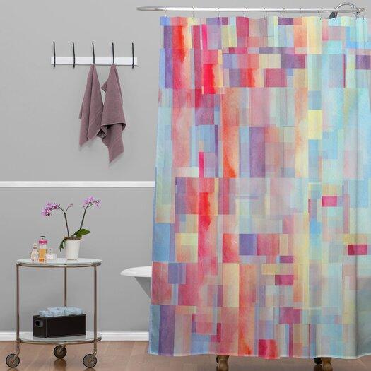 DENY Designs Jacqueline Maldonado Woven Polyester Shapeshifter Shower Curtain