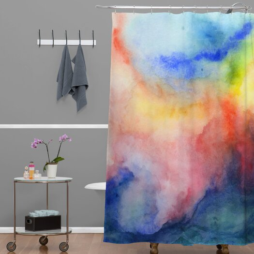 DENY Designs Jacqueline Maldonado Woven Polyester Torrent 1 Shower Curtain