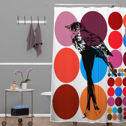 DENY Designs Randi Antonsen Polyester Poster Heroins 5 Shower Curtain