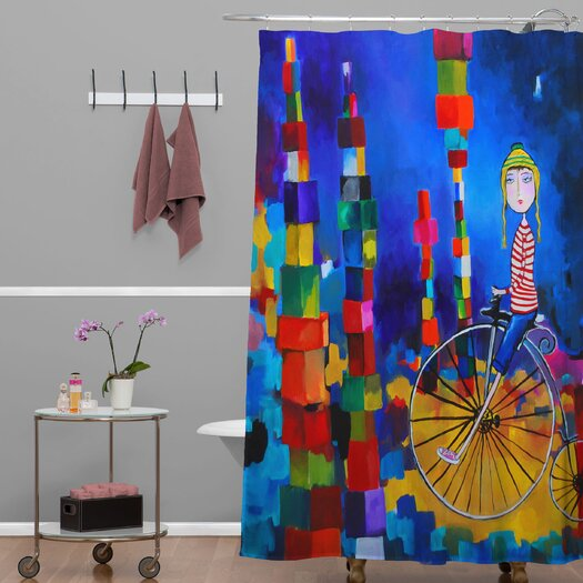 DENY Designs Robin Faye Gates Polyester Out of Bounds Shower Curtain
