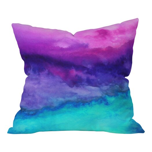 DENY Designs Jacqueline Maldonado The Sound Polyester Throw Pillow