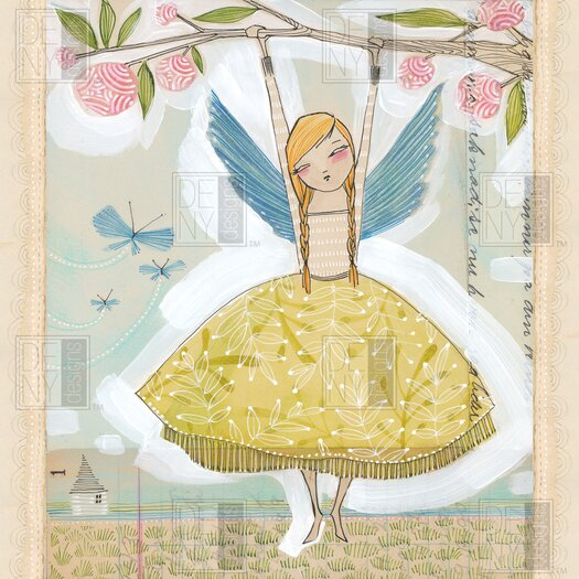 DENY Designs Cori Dantini Woven Polyester Make A Little Memory Shower Curtain