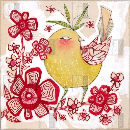 DENY Designs Cori Dantini Woven Polyester Sweetie Pie Shower Curtain