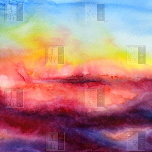 DENY Designs Jacqueline Maldonado Woven Polyester Kiss of Life Shower Curtain