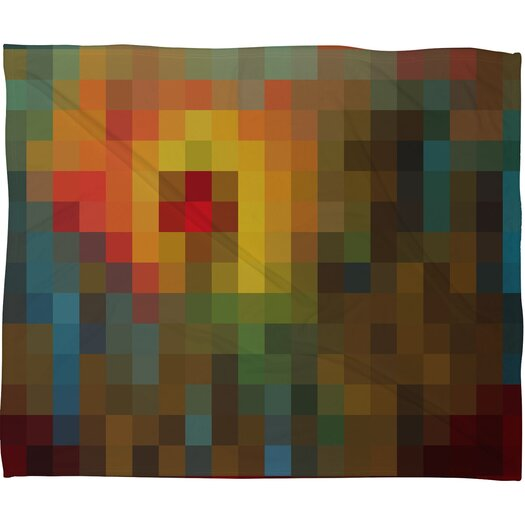 DENY Designs Madart Inc. Glorious Colors Polyester Fleece Throw Blanket
