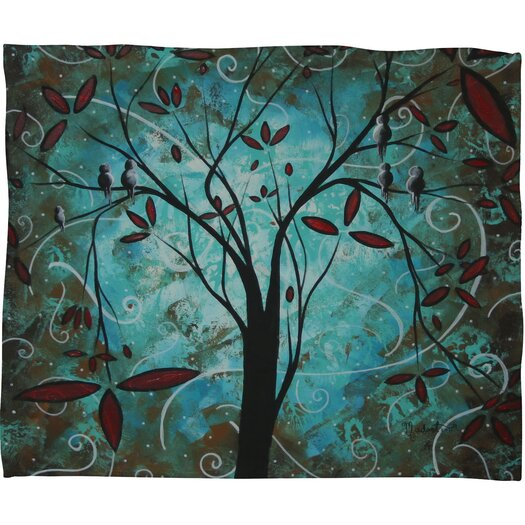 DENY Designs Madart Inc. Romantic Evening Polyester Fleece Throw Blanket