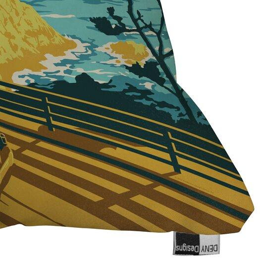 DENY Designs Anderson Design Group Coastal California Indoor/Outdoor Polyester Throw Pillow