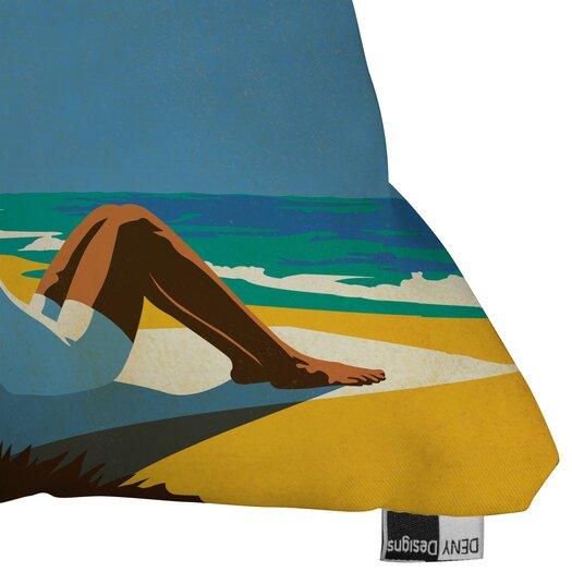DENY Designs Anderson Design Group Miami Woven Polyester Throw Pillow