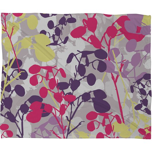 DENY Designs Rachael Taylor Textured Honesty Polyester Fleece  Throw Blanket