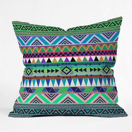 DENY Designs Bianca Green Esodrevo Woven Polyester Throw Pillow