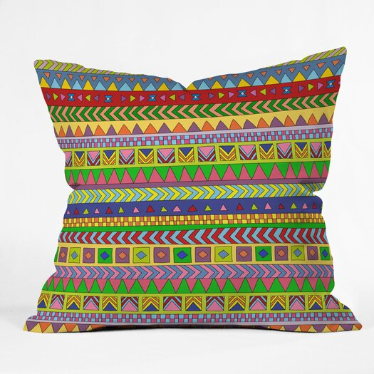DENY Designs Bianca Green Forever Young Polyester Throw Pillow