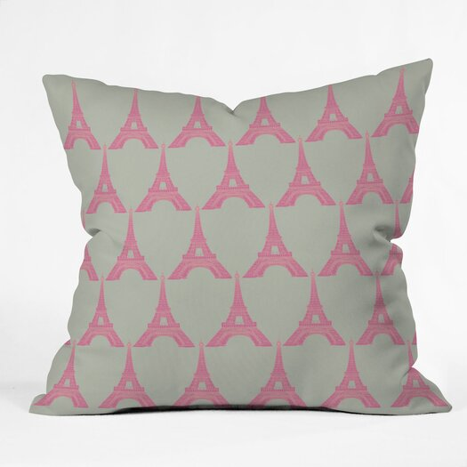 DENY Designs Bianca Green Oui Woven Polyester Throw Pillow