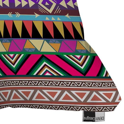 DENY Designs Bianca Green Overdose Woven Polyester Throw Pillow