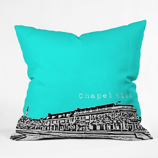 DENY Designs Bird Ave Chapel Hill Woven Polyester Throw Pillow