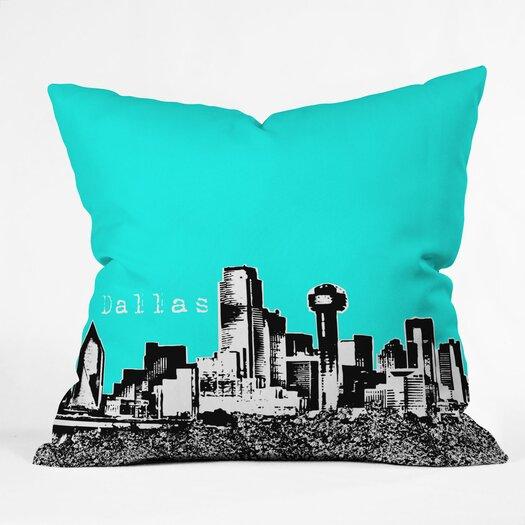 DENY Designs Bird Ave Dallas Woven Polyester Throw Pillow