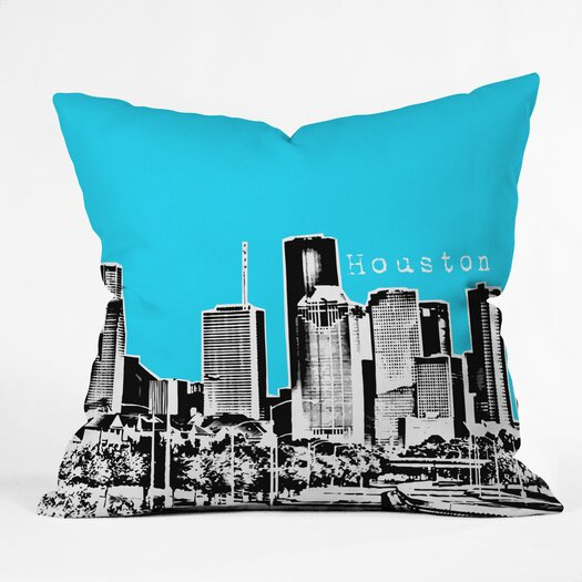 DENY Designs Bird Ave Houston Indoor/Outdoor Polyester Throw Pillow