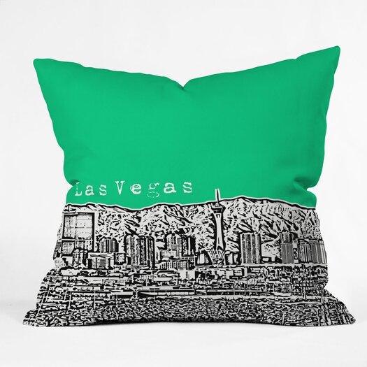 DENY Designs Bird Ave Las Vegas Woven Polyester Throw Pillow