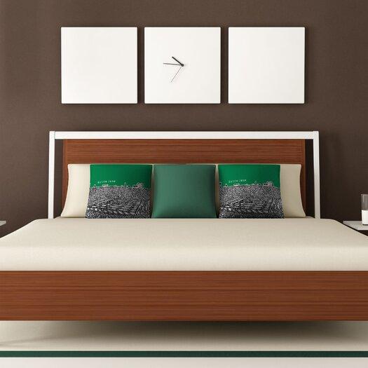 DENY Designs Bird Ave Notre Dame Woven Polyester Throw Pillow