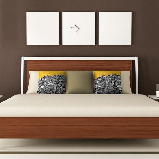 DENY Designs Bird Ave University of Colorado Woven Polyester Throw Pillow