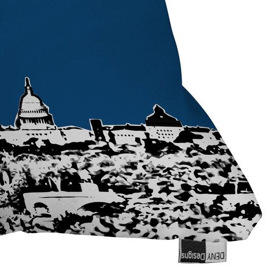 DENY Designs Bird Ave Washington Indoor/Outdoor Polyester Throw Pillow