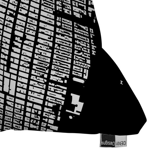 DENY Designs CityFabric Inc NYC Midtown Woven Polyester Throw Pillow