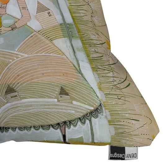DENY Designs Cori Dantini Always Thoughtful Woven Polyester Throw Pillow