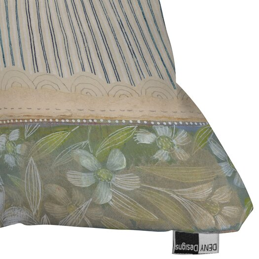 DENY Designs Cori Dantini Stripes Woven Polyester Throw Pillow