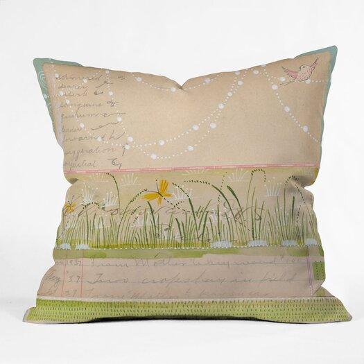 DENY Designs Cori Dantini Horizontal Woven Polyester Throw Pillow
