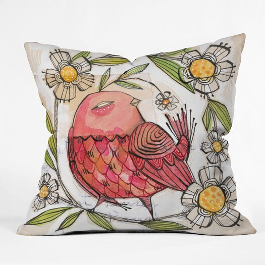 DENY Designs Cori Dantini Not A Turkey Indoor / Outdoor Polyester Throw Pillow