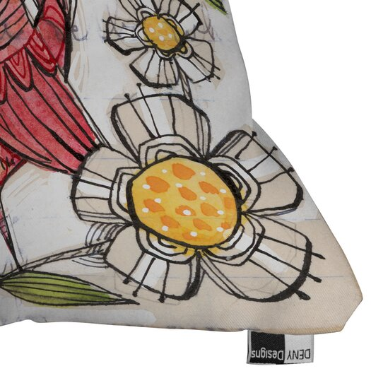 DENY Designs Cori Dantini Not a Turkey Woven Polyester Throw Pillow