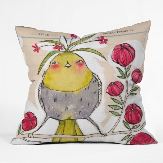 DENY Designs Cori Dantini Sweetness And Light Indoor / Outdoor Polyester Throw Pillow